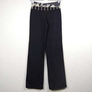 Lululemon Astro Pants Full Length Black Gray 4